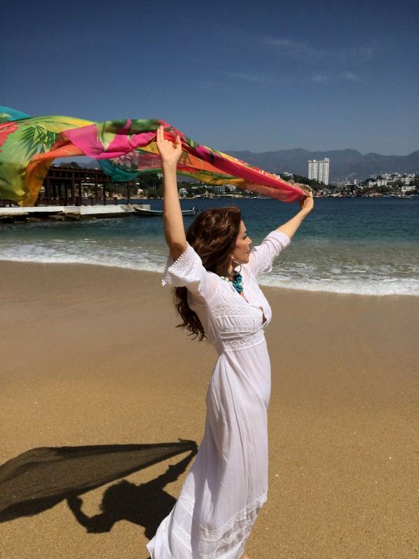 Grabando los vídeos desde las bellas #Playas de #Acapulco